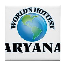 World's Hottest Aryana Tile Coaster