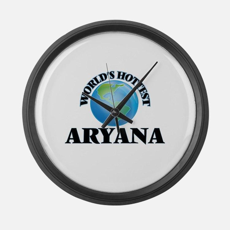 World's Hottest Aryana Large Wall Clock