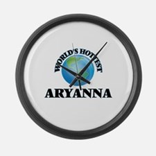 World's Hottest Aryanna Large Wall Clock