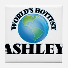 World's Hottest Ashley Tile Coaster