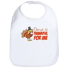 Oma Thankful For Me Bib