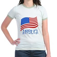 America American Flag T
