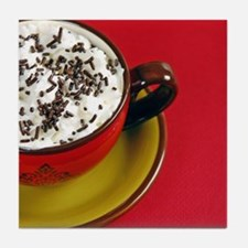 Cup of cocoa Tile Coaster