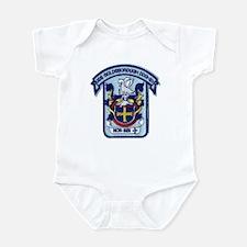 USS GOLDSBOROUGH Infant Bodysuit