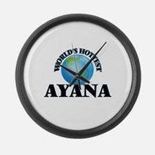World's Hottest Ayana Large Wall Clock