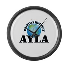 World's Hottest Ayla Large Wall Clock