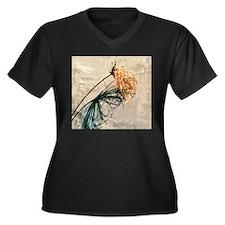 Papyrus Shadow Plus Size T-Shirt
