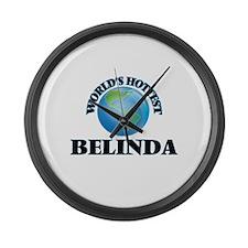 World's Hottest Belinda Large Wall Clock