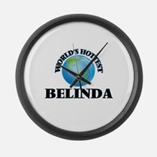 World's Hottest Belinda Large Wall Clock