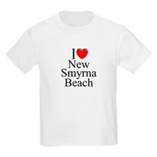 """I Love New Smyrna Beach"" T-Shirt"