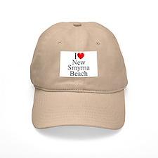 """I Love New Smyrna Beach"" Baseball Cap"