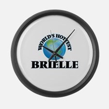 World's Hottest Brielle Large Wall Clock