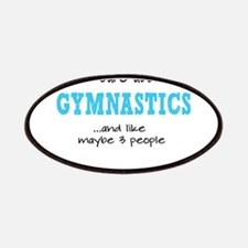 All I Care About Gymnastics Patches