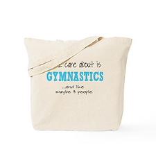All I Care About Gymnastics Tote Bag