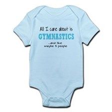 All I Care About Gymnastics Body Suit