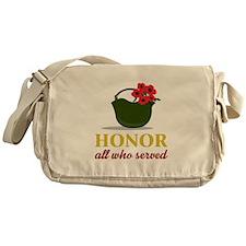Honor Who Served Messenger Bag