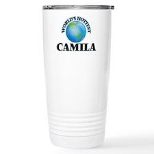 World's Hottest Camila Travel Mug