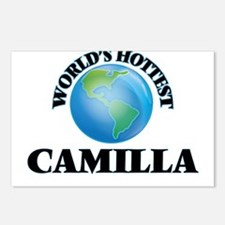 World's Hottest Camilla Postcards (Package of 8)