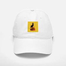 Thanksgiving Le Chat Noir With Turkey Pilgrim Baseball Baseball Cap