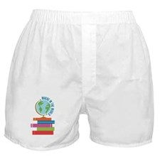 Where In The World Boxer Shorts