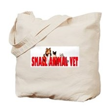 SMALL ANIMAL VET Tote Bag