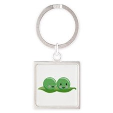 Two Peas Keychains