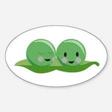 Two Peas Decal