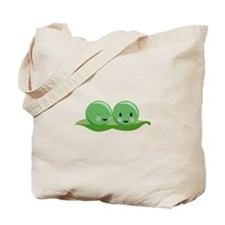 Two Peas Tote Bag