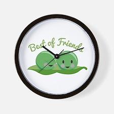 Best Of Friends Wall Clock