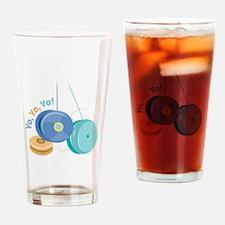 Yo Yo Yo! Drinking Glass