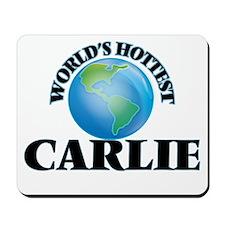 World's Hottest Carlie Mousepad