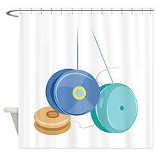 Yo Yo Shower Curtain