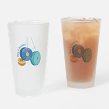 Ups Downs Drinking Glass
