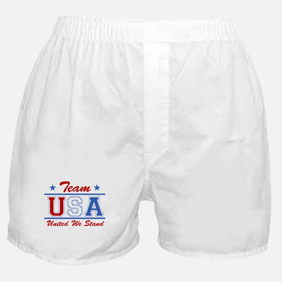 TEAM USA United We Stand Boxer Shorts