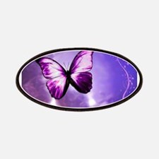 purple butterfly Patches