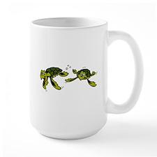 Baby Sea Turtles Swimming Mug