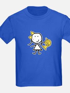 Girl & French Horn T