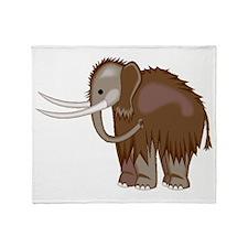 Woolly Mammoth Throw Blanket