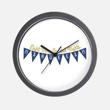 Eight Very Special Nights Wall Clock