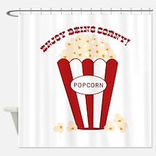 Enjoy Being Corny Shower Curtain
