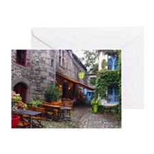 French Cafe Card Greeting Cards