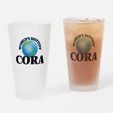 World's Hottest Cora Drinking Glass