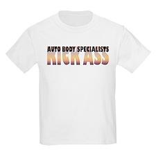 Auto Body Specialists Kick Ass T-Shirt