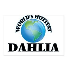 World's Hottest Dahlia Postcards (Package of 8)