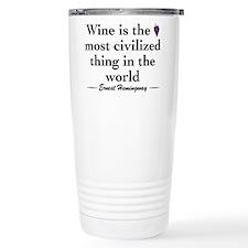 Cute Wine Travel Mug