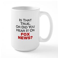 True or Fox News Ceramic Mugs
