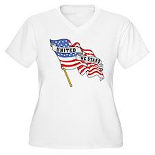United We Stand Patriotic T-Shirt