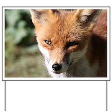 Fox001 Yard Sign