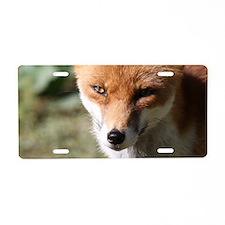 Fox001 Aluminum License Plate