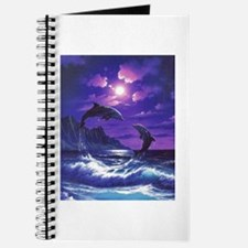 dolphins jumping Journal